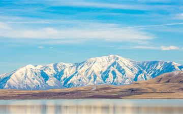 utah lake 5k MacBook Air wallpaper
