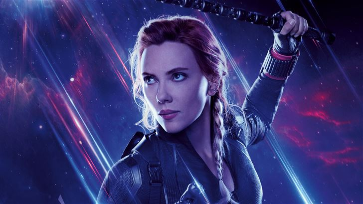 black widow avengers end game 8k Mac Wallpaper