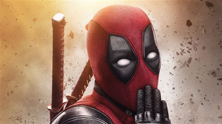 deadpool 2 5k new poster Mac Wallpaper