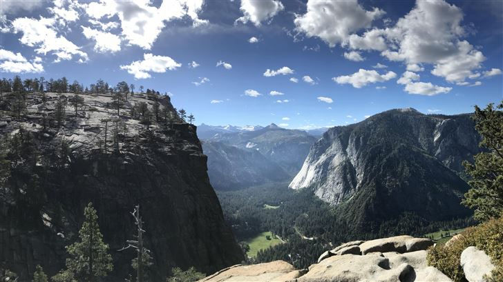 8k yosemite valley Mac Wallpaper