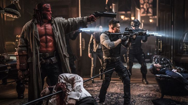 hellboy movie 5k 2019 Mac Wallpaper