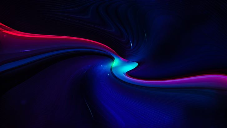 mini light path abstract 8k Mac Wallpaper