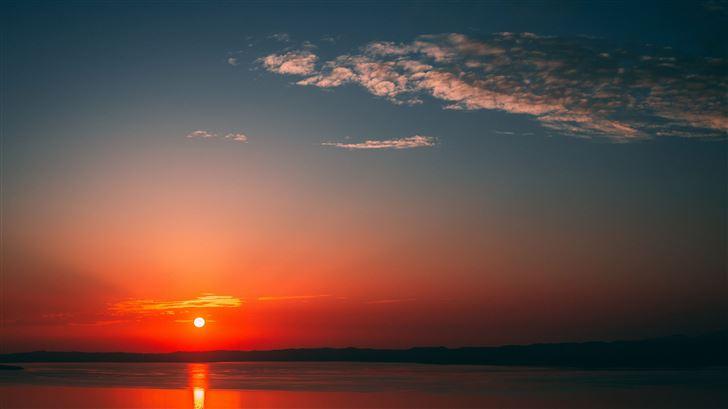beautiful sunset Mac Wallpaper