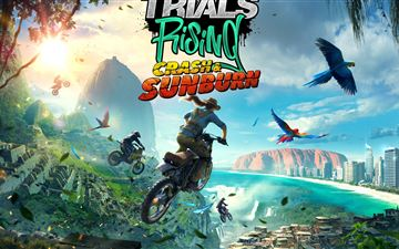2019 trials rising crash and sunburn 8k All Mac wallpaper