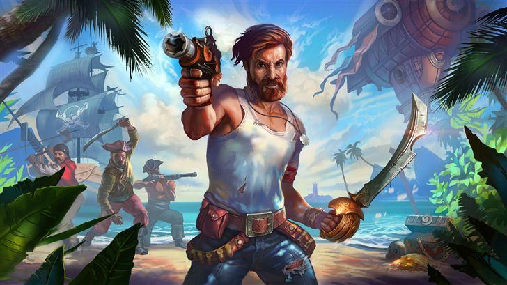 survival island evo pro Mac Wallpaper
