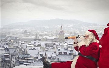 Santa claus is coming All Mac wallpaper
