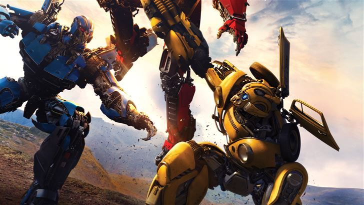 bumblebee movie 8k movie Mac Wallpaper