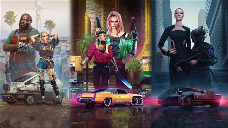 cyberpunk 2077 4k 2020 new game Mac Wallpaper