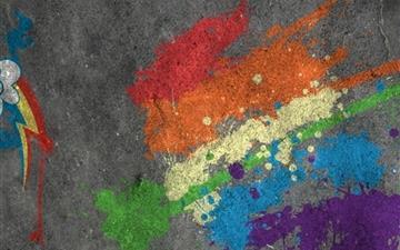 Rainbow Dash cutie mark Mac wallpaper