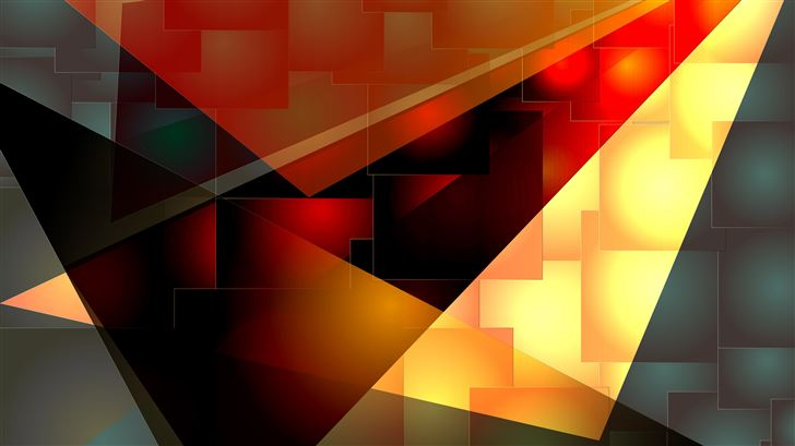 sharp colors abstract 5k Mac Wallpaper