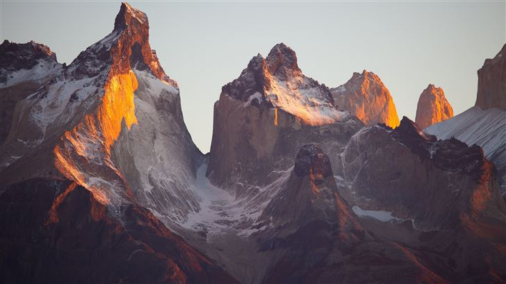 torres del paine 5k Mac Wallpaper