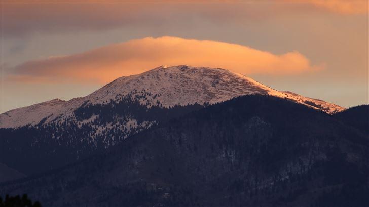 sunrise over santa fe baldy 5k Mac Wallpaper