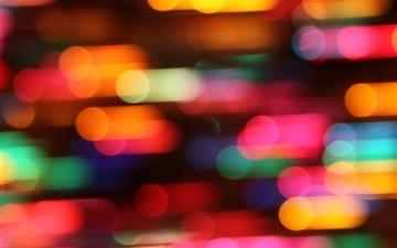 Colorful christmas lights Mac wallpaper