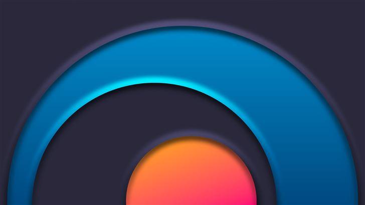 circle chakra abstract 8k Mac Wallpaper