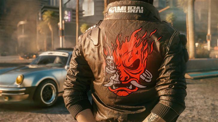 samurai jacket 5k Mac Wallpaper