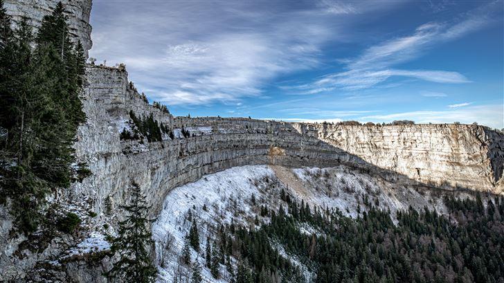 beautiful landscape winter 5k Mac Wallpaper