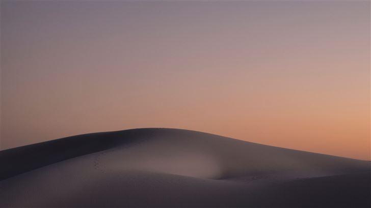 sand dunes landscape 5k Mac Wallpaper