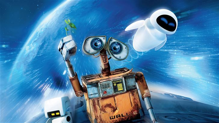 wall e 2008 Mac Wallpaper