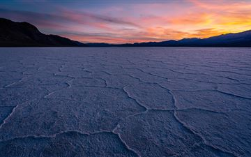 death valley sunset 8k MacBook Air wallpaper