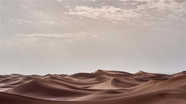 desert landscape morning 4k Mac Wallpaper