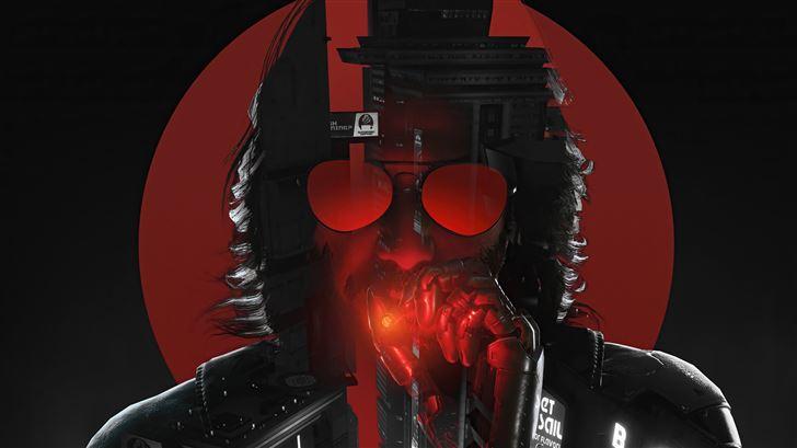 rockerboy johnny cyberpunk 2077 5k Mac Wallpaper
