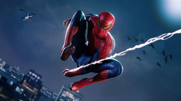 spiderman remastered ps5 Mac Wallpaper