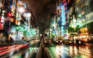 Tokyo night All Mac wallpaper