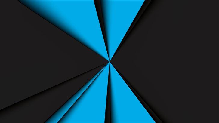 blue dark formation 8k Mac Wallpaper