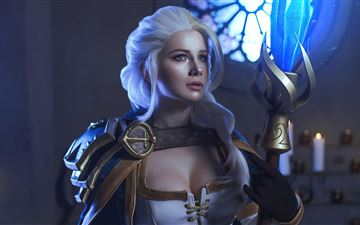 jaina proudmoore from the world of warcraft cospla All Mac wallpaper