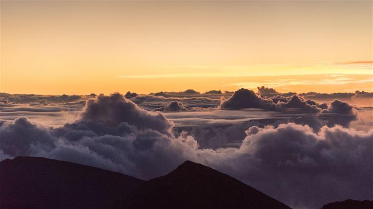landscape nature clouds 5k Mac Wallpaper