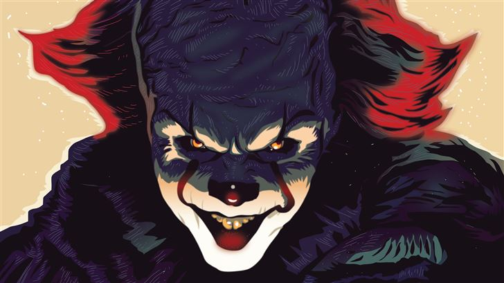 it pennywise Mac Wallpaper