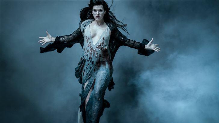 milla jovovich blood queen hellboy 2019 Mac Wallpaper