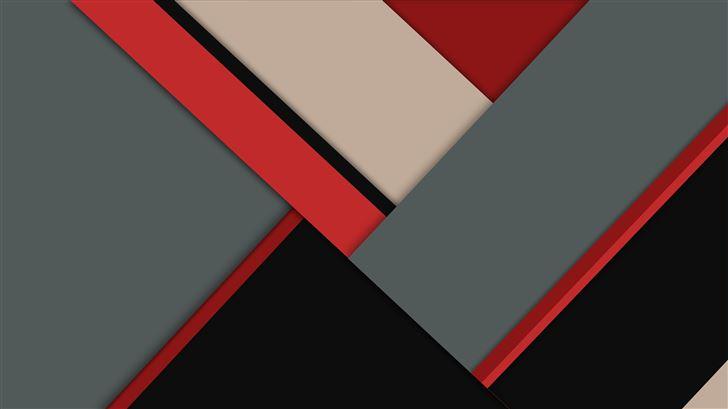 red gray material design 8k Mac Wallpaper