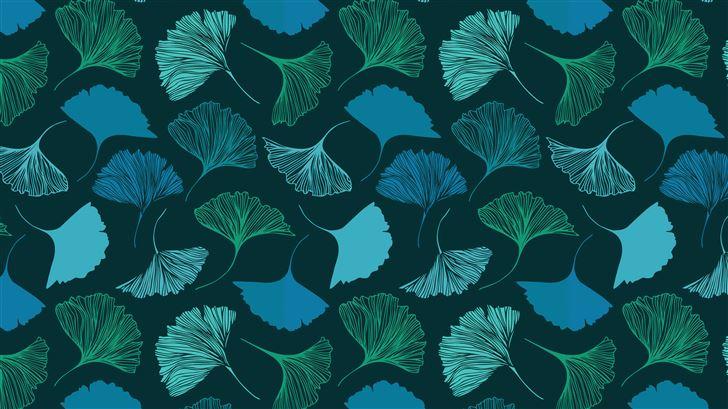 pattern plants abstract 4k Mac Wallpaper