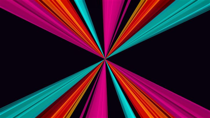 ribbons abstract 8k Mac Wallpaper