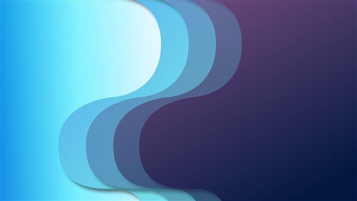 abstract minimal clear design 8k Mac Wallpaper