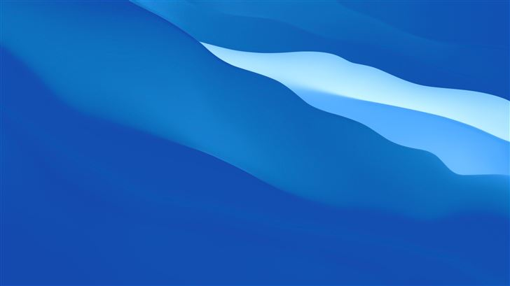 simple blue gradients abstract 8k Mac Wallpaper