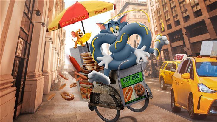 tom and jerry cartoon movie 10k Mac Wallpaper
