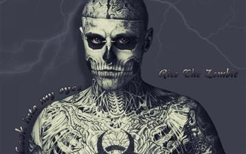 Zombie Boy Mac wallpaper