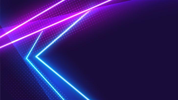 neon light grafitti 5k Mac Wallpaper