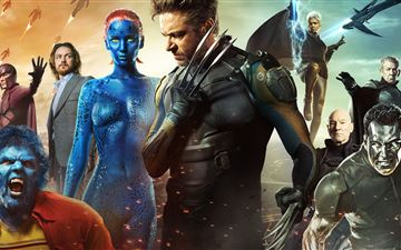 x men days of future past 5k MacBook Air wallpaper