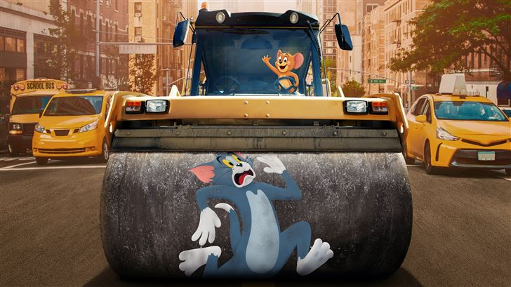 tom and jerry animated movie 10k Mac Wallpaper