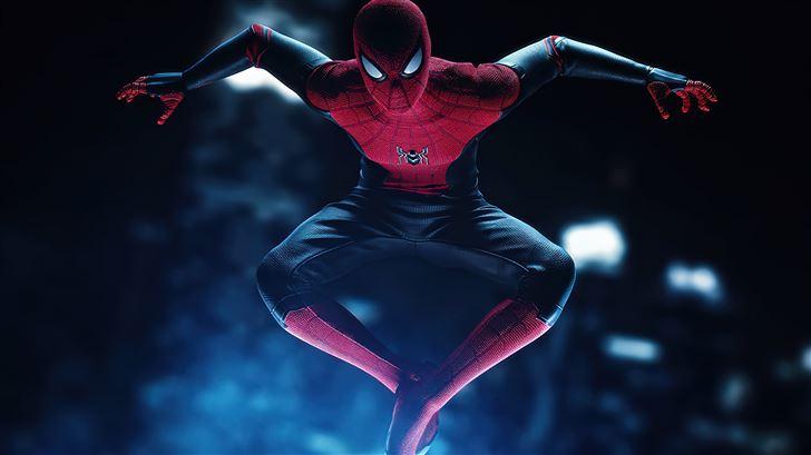 miles morales suit spiderman ps5 5k Mac Wallpaper