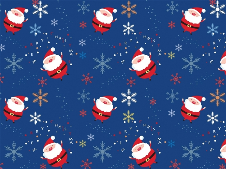 Santa Claus Pattern Mac Wallpaper Download Allmacwallpaper