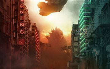 2021 godzilla vs kong iMac wallpaper