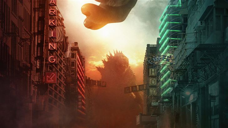 2021 godzilla vs kong Mac Wallpaper
