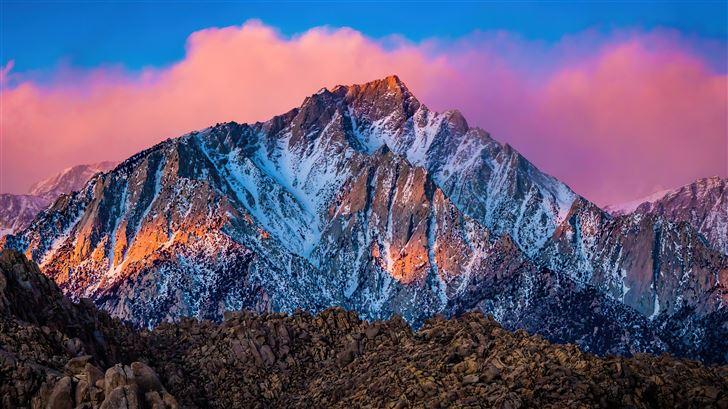 lone pine peak Mac Wallpaper