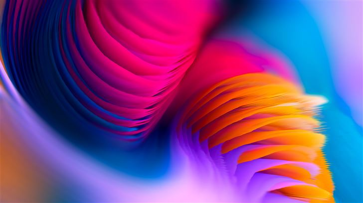 circles abstract 8k Mac Wallpaper