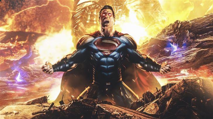 superman and darkseid zack snyders justice league  Mac Wallpaper