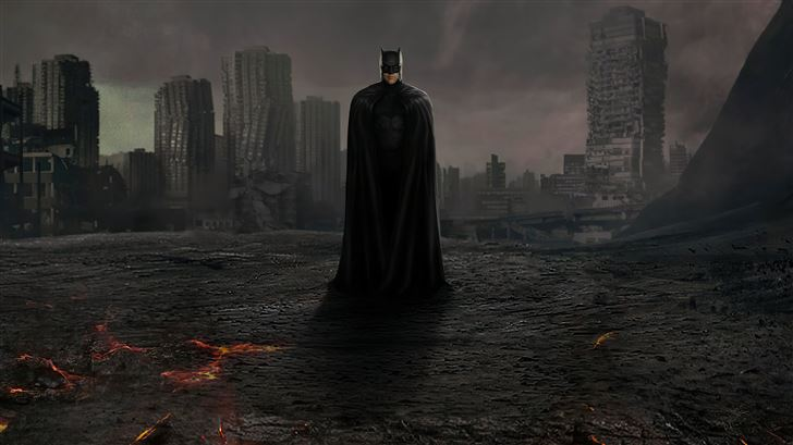 the dark knight zack synders cut justice league 5k Mac Wallpaper